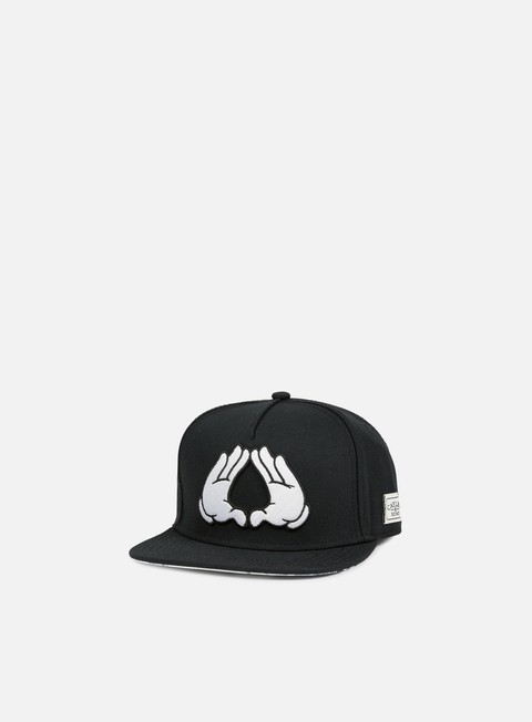 cappellini cayler e sons brooklyn classic snapback black white