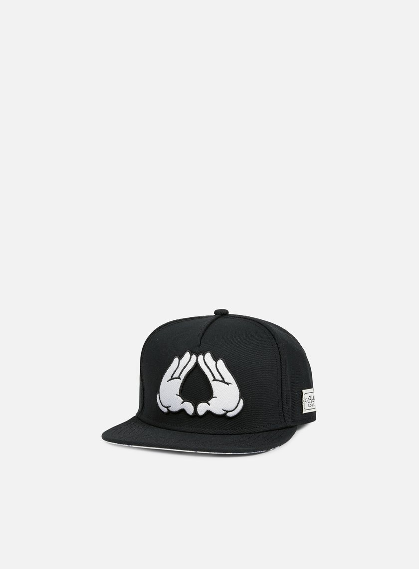 Cayler & Sons - Brooklyn Classic Snapback, Black/White