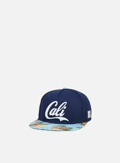 Cayler & Sons - Cali Love Snapback, Navy/Light Blue 1