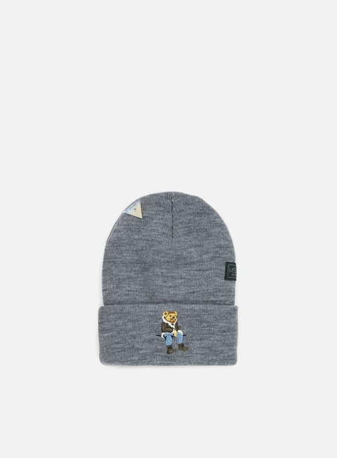 cappellini cayler e sons chmpgn drms old school beanie heather grey multi
