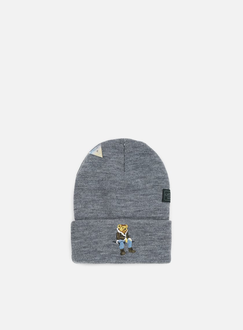 Cayler & Sons - CHMPGN DRMS Old School Beanie, Heather Grey/Multi