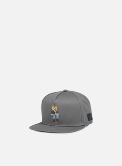 Cayler & Sons - CHMPGN DRMS Snapback, Grey/Multi 1