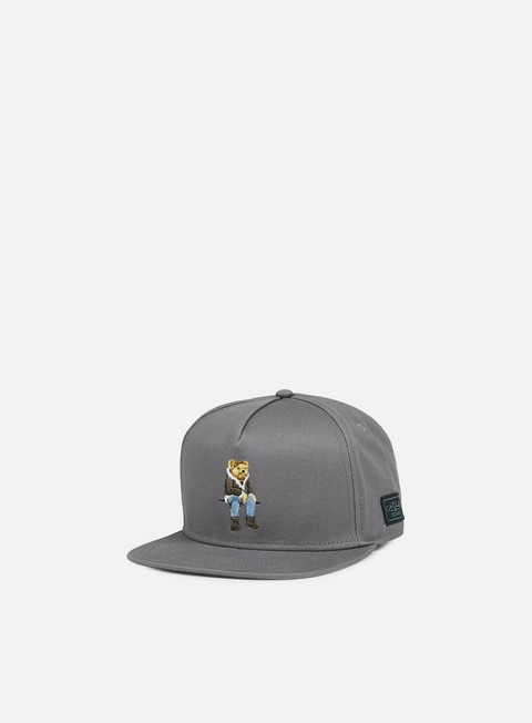 cappellini cayler e sons chmpgn drms snapback grey multi