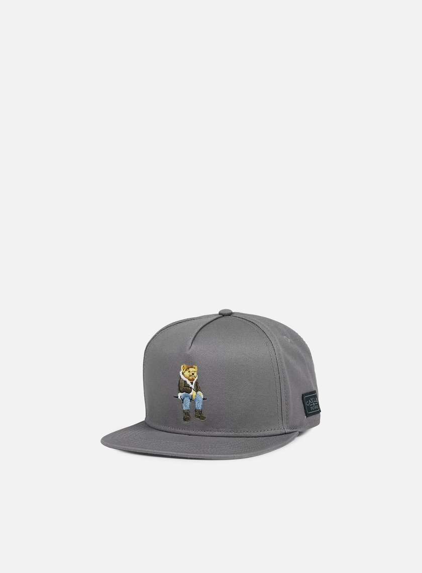 Cayler & Sons - CHMPGN DRMS Snapback, Grey/Multi