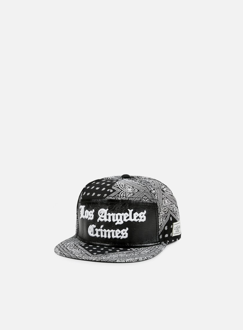 Cayler & Sons - Crimes Snapback, Black Paisley/Black