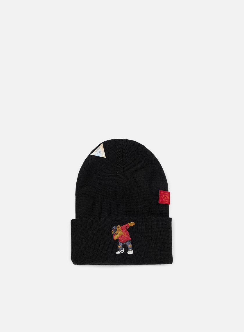 Cayler & Sons - Dabbin Crew Old School Beanie, Black/Multi