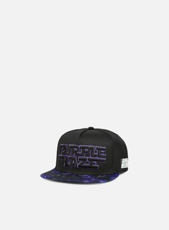 Cayler & Sons - Dark Haze Snapback, Black/Purple 1
