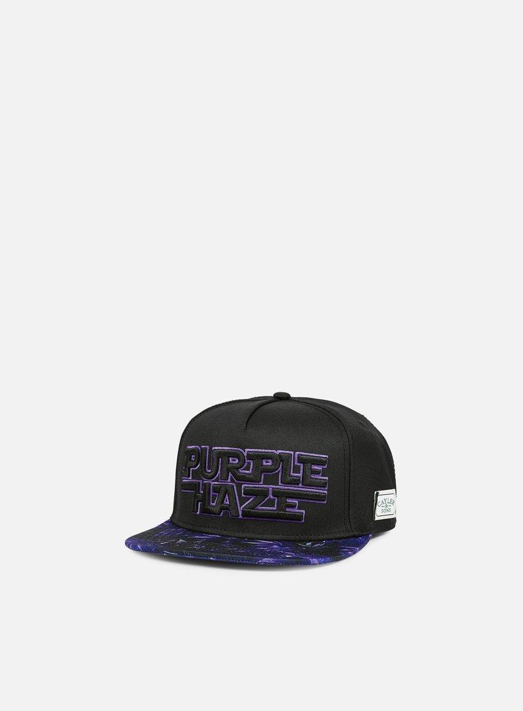 Cayler & Sons - Dark Haze Snapback, Black/Purple