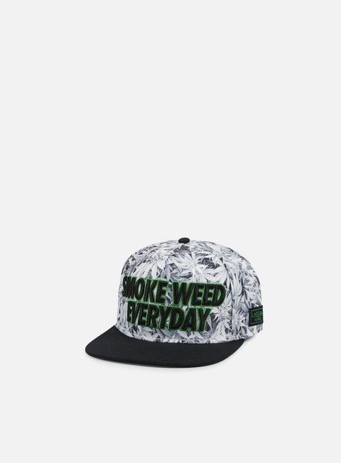 cappellini cayler e sons everyday snapback white kush black green