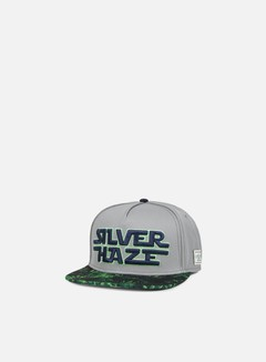 Cayler & Sons - Force Haze Snapback, Grey/Green 1