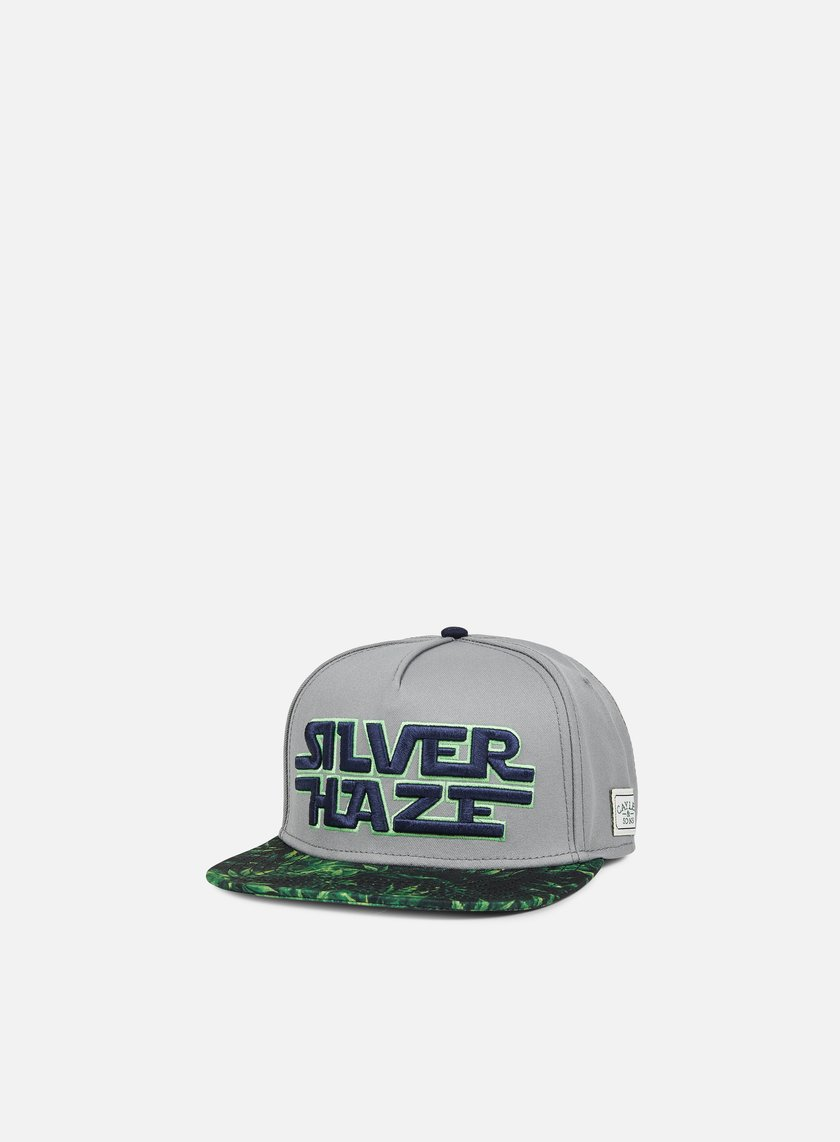 Cayler & Sons - Force Haze Snapback, Grey/Green