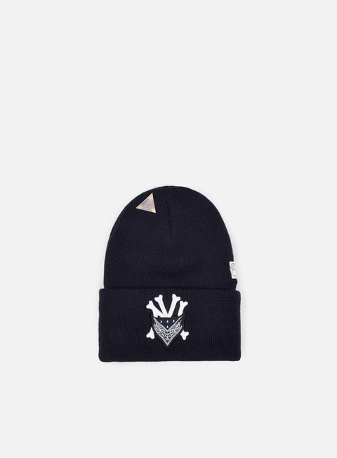 cappellini cayler e sons grime old school beanie navy white