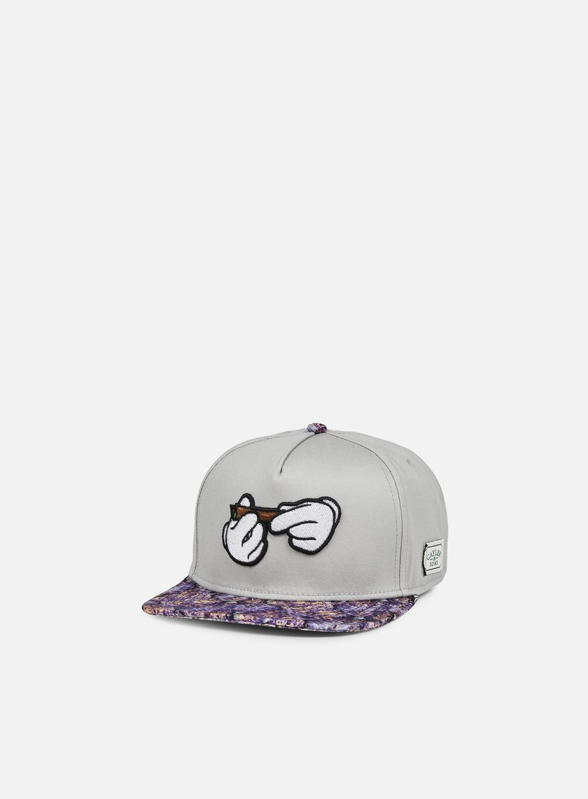 Cayler & Sons - Haze Classic Snapback, Grey/Purple Haze