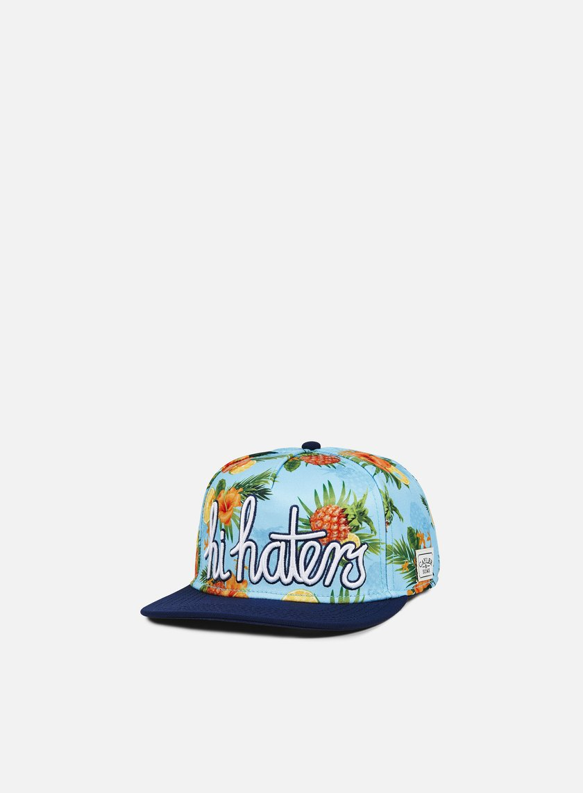 Cayler & Sons - Hi Haters Snapback, Light Blue/Navy