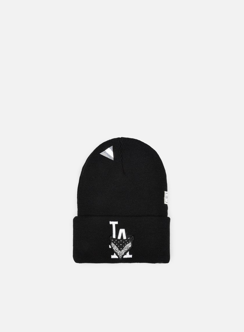 Cayler & Sons - Ivan Antonov Old School Beanie, Black/White