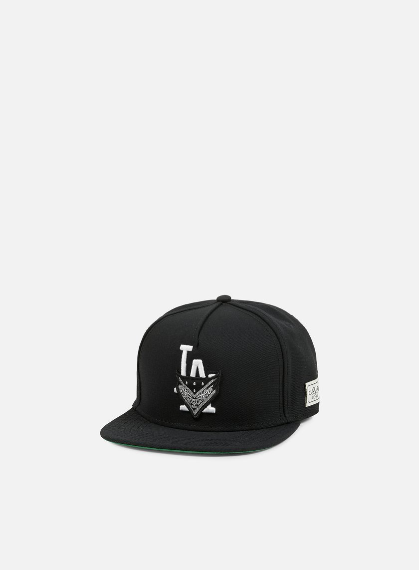 Cayler & Sons - Ivan Antonov Snapback, Black/Green/White