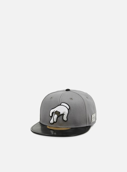 cappellini cayler e sons no requests snapback grey black multi