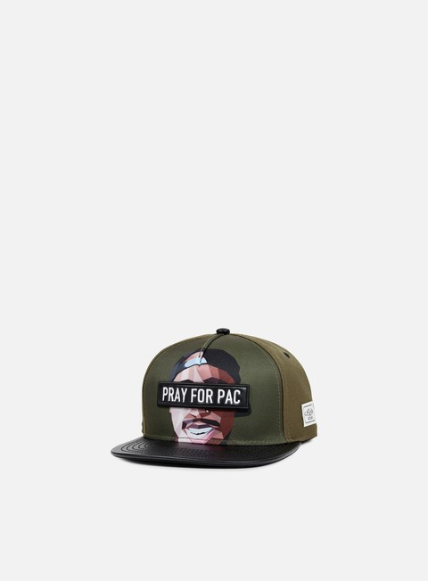 cappellini cayler e sons pacasso snapback forest green multi