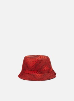 Cayler & Sons - Paiz Bucket Hat, Red/Black