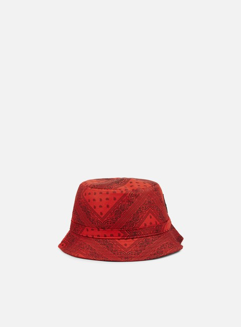 cappellini cayler e sons paiz bucket hat red black