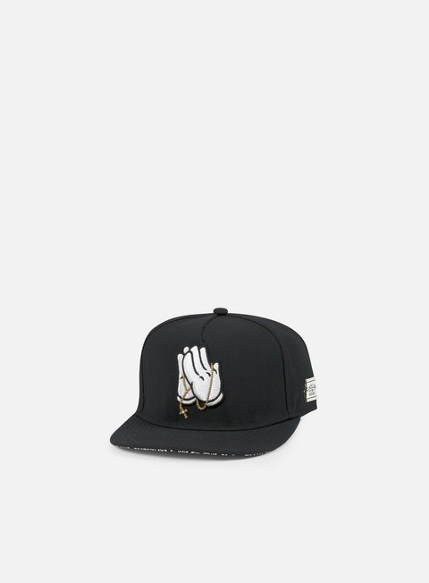 cappellini cayler e sons pray for snapback black paisley white