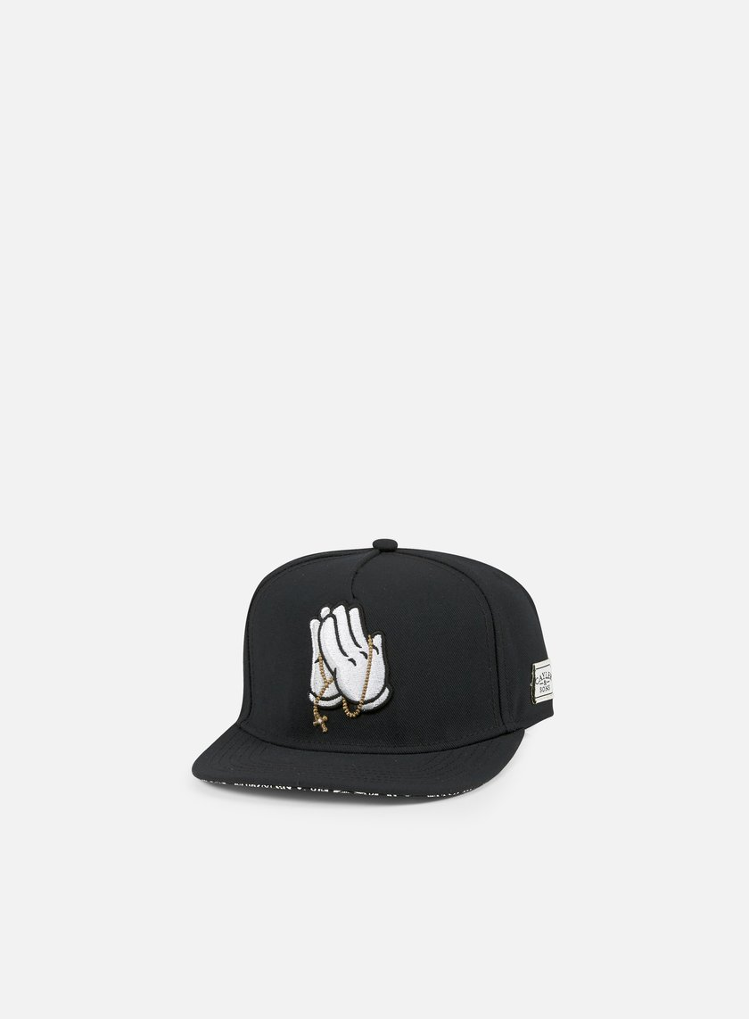 Cayler & Sons - Pray For Snapback, Black/Paisley/White
