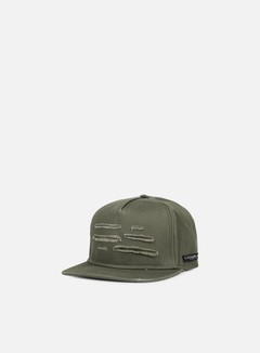 Cayler & Sons - Ripped Snapback, Olive/Woodland 1