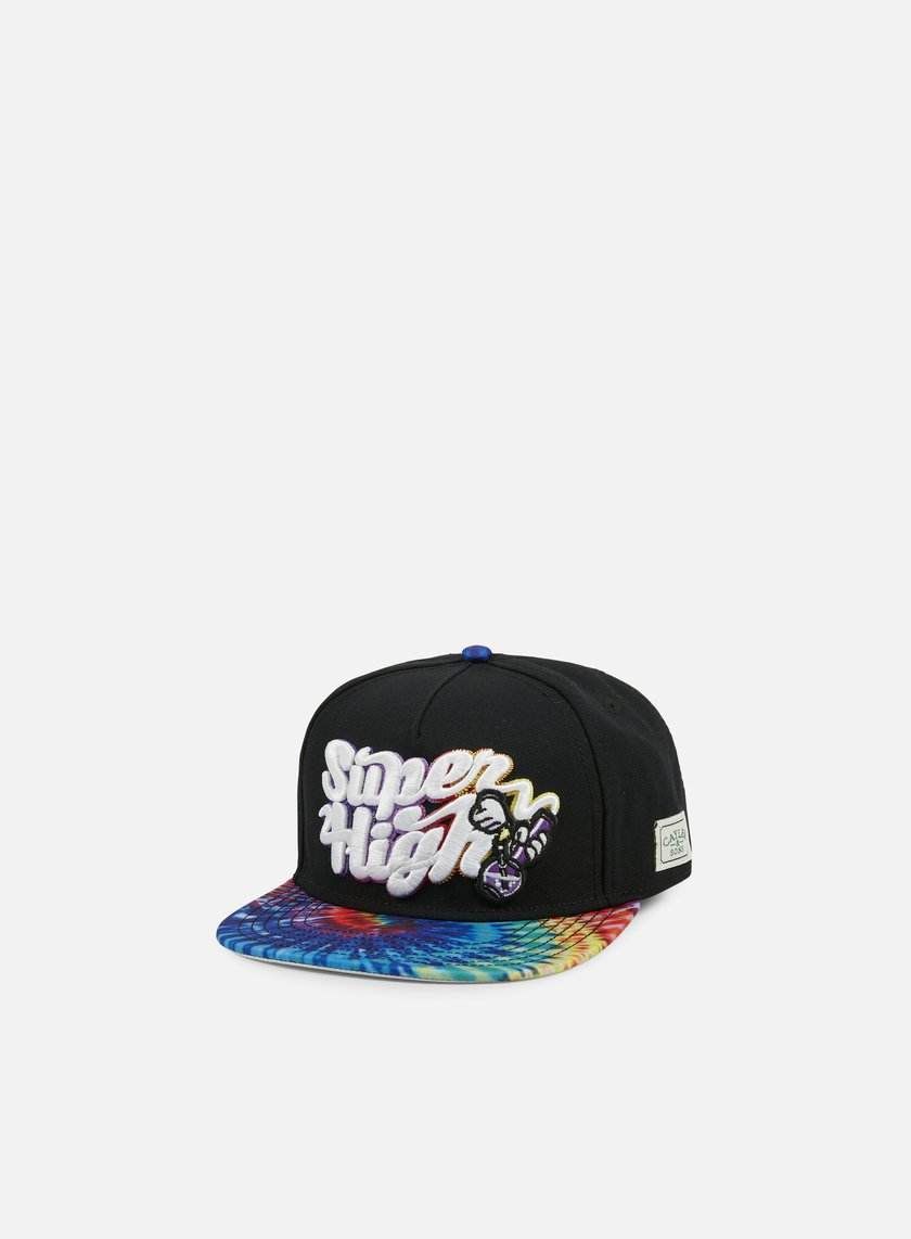 Cayler & Sons - Super High Snapback, Black/Multi/Holographic