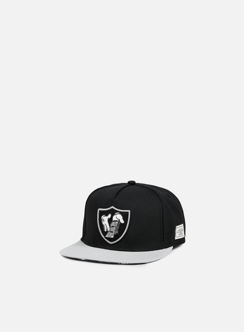 cappellini cayler e sons to blow snapback black grey