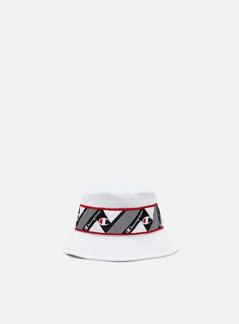 Sale Outlet Bucket Hat Champion Mesh Logo Taped Bucket