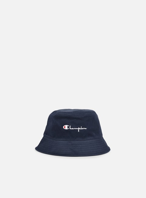 cappellini champion reverse weave bucket hat navy