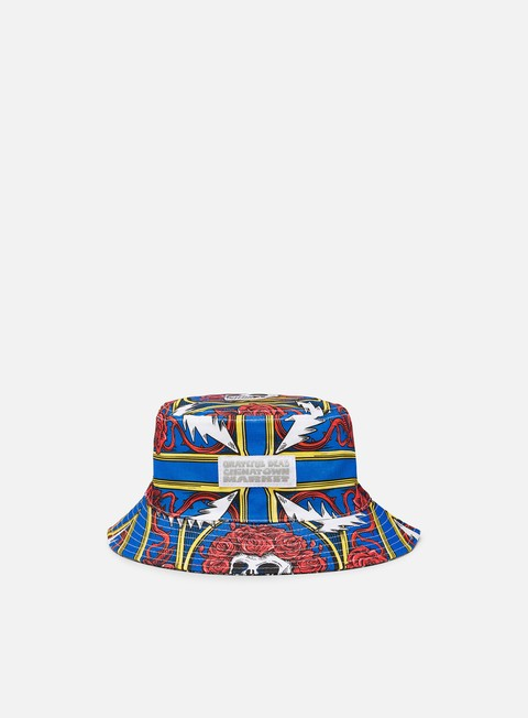 Cappellini Bucket Chinatown Market Grateful Dead Border Bandana Bucket Hat