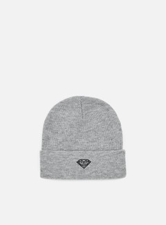 Diamond Supply - Brilliant Beanie, Heather Grey