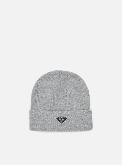 cappellini diamond supply brilliant beanie heather grey