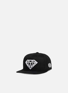 Diamond Supply - Brilliant Snapback, Black 1