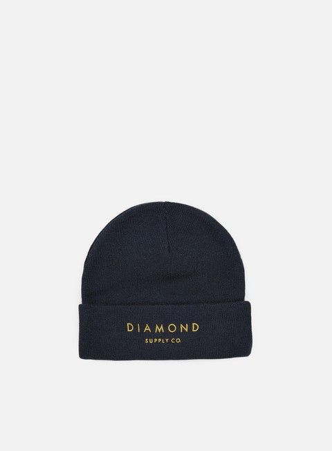 cappellini diamond supply diamond beanie navy