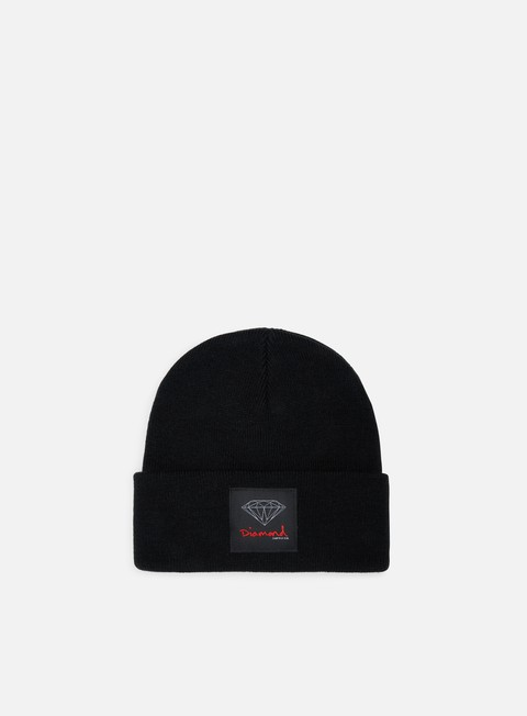 cappellini diamond supply og sign core beanie black