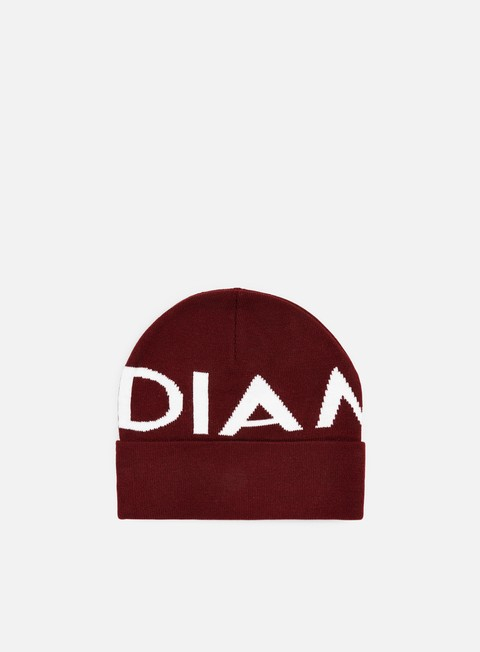 cappellini diamond supply radiant beanie burgundy