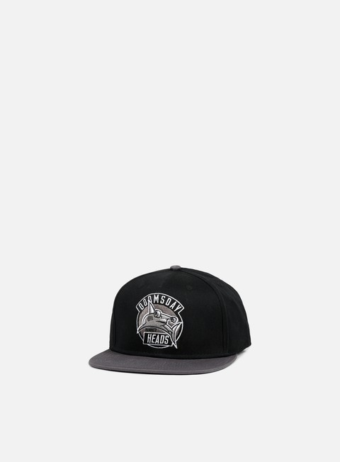 cappellini doomsday heads snapback black grey