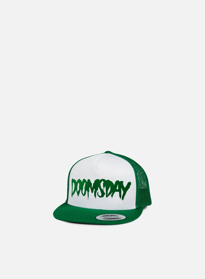Doomsday - Logo Spiderweb Trucker Snapback, Green