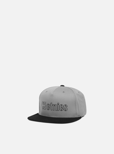Sale Outlet Snapback Caps Etnies Corporate 5 Snapback