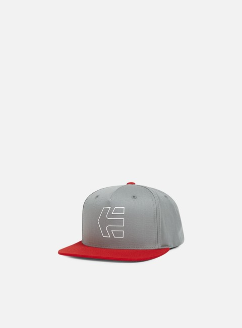 cappellini etnies icon 7 snapback red