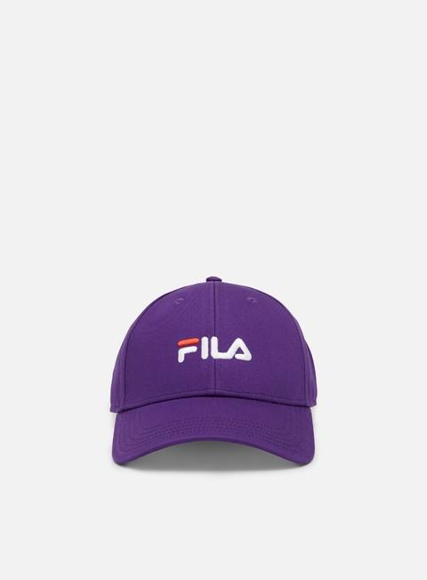 Cappellini con visiera Fila 6 Panel Linear Logo Strapback