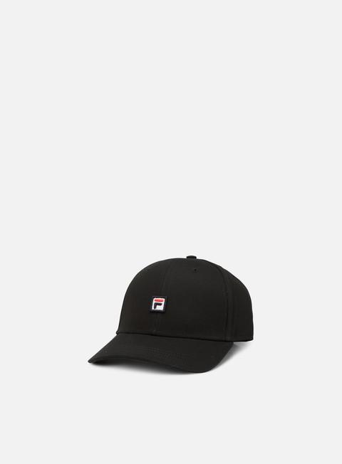 cappellini fila 6 panel snapack black