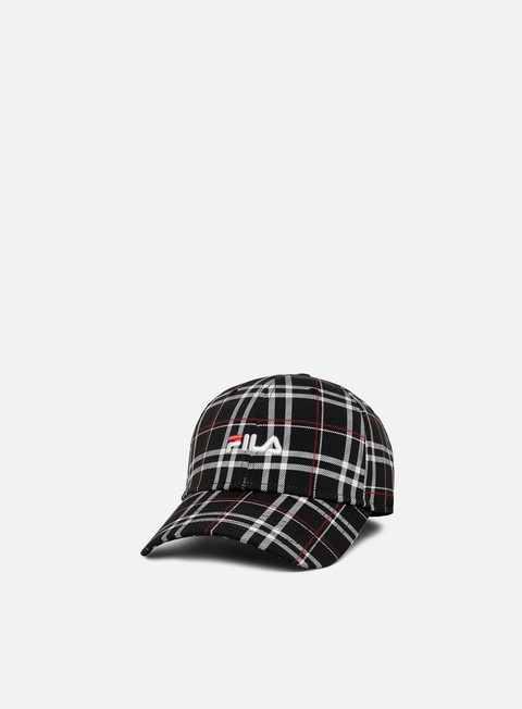 Curved Brim Caps Fila Aop 6 Panel Cap