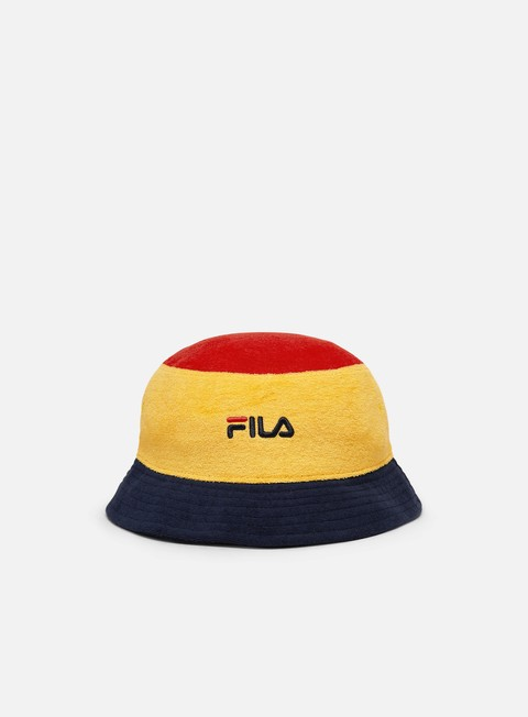 Cappellini Bucket Fila Blocked Bucket Hat