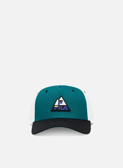 Fila Colorblock Mountain Logo Cap