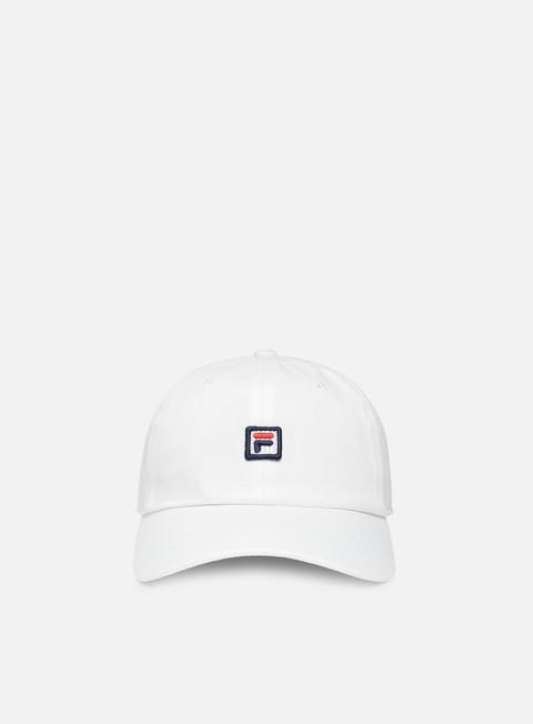 cappellini fila dad cap strapback bright white