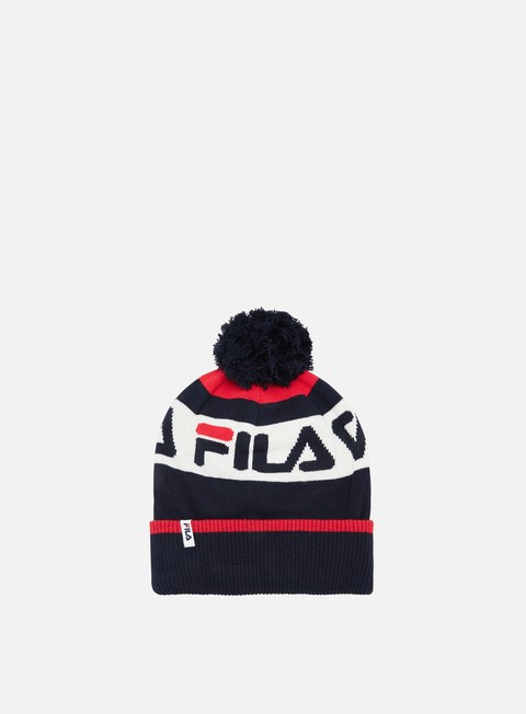 Sale Outlet Beanies Fila Intarsia Knitted Beanie