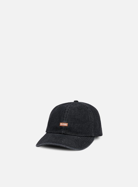 Curved Brim Caps Globe Marco 6 Panel Cap